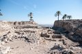 Excavations in israel archaeological ancient history national park Royalty Free Stock Photography