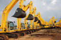 Excavator Construction Equipment Royalty Free Stock Photo