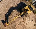 Excavator seen from above Royalty Free Stock Photo