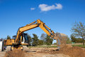 Excavator working Stock Photography