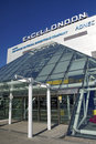 Excel london the exhibition centre in the city of Royalty Free Stock Photo