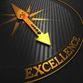 Excellence. Business Background. Royalty Free Stock Photo
