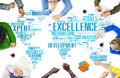 Excellence Expertise Perfection Global Growth Concept Royalty Free Stock Photo