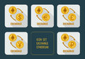 Exchange cryptocurrency Ethereum for different currencies