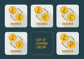 Exchange cryptocurrency Litecoin for different currencies