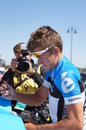 Excursion 2012 de Heinrich Haussler Amgen de la Californie   Photographie stock