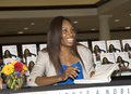 Excursion de livre de Venus Williams Images stock