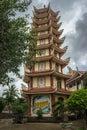 Aziya, V`yetnam, Dalat, Pagoda...