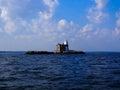Execution Rocks  Lighthouse Long Island Royalty Free Stock Photo