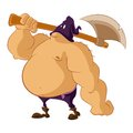 Executioner vector image of a big fat Stock Photography