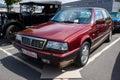Executive car lancia thema berlin germany may engine ferrari v th oldtimer day berlin brandenburg Royalty Free Stock Photo