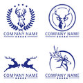 Executive stag logo concept for your business eps ready Royalty Free Stock Images