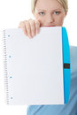 Exercise book Stock Photo
