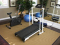 Exercise Room Royalty Free Stock Photo