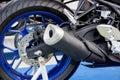 Exhaust motorbikes Royalty Free Stock Photo