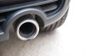 Exhaust pipe Stock Images