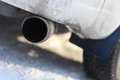 Exhaust Pipe Stock Photo