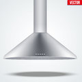 Exhaust range cooker hood Royalty Free Stock Photo