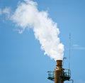 Exhaust stack Royalty Free Stock Photo