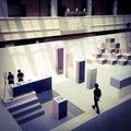 Exhibition exhibit at national designer singapore Royalty Free Stock Image