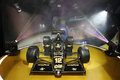 Exhibition of historic formula cars in auto salon sao paulo brazil lotus jps t famous black lotus of ayrton senna Stock Image