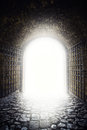 Exit to the light Royalty Free Stock Photo