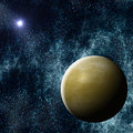 Extrasolar Exoplanet Royalty Free Stock Photo