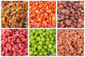 Exotic dry Chinese fruit Royalty Free Stock Images