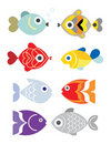 Exotic fishes Royalty Free Stock Images