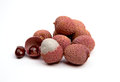 Exotic fruit lychee Royalty Free Stock Photos