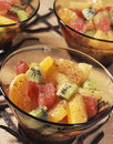 Exotic fruit salad Stock Image