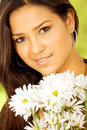 Exotic girl portrait Royalty Free Stock Photos