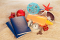 Exotic new year holiday or vacation concept Royalty Free Stock Image