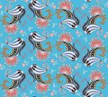 Exotic seamless paisley floral pattern in vector. Design elements. Paper, wallpaper, wrapping design, print for fabric