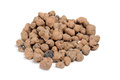 Expanded Clay Aggregate (Grow Rocks) Royalty Free Stock Image