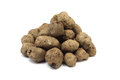 Expanded clay pellets building Royalty Free Stock Photo