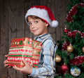 Expectativa do Natal Fotografia de Stock Royalty Free