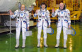 Expedition 31 Crewmembers Stockfotos
