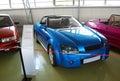 Experimental cars in the Technical museum of AVTOVAZ. City of Togliatti. Samara region. Royalty Free Stock Photo