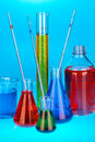 Experimental laboratory Stock Image