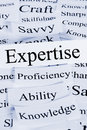 Expertise Concept Royalty Free Stock Photo