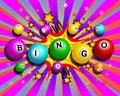 Exploding Bingo Background