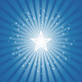 Exploding Star Burst Background Stock Images