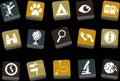 Exploration Icon Royalty Free Stock Photo