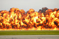Explosion Royalty Free Stock Photo