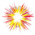Explosion (vector) Royalty Free Stock Photo
