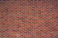 Exposed red vintage brick wall texture Royalty Free Stock Photo