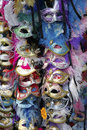Exposition of masks of venice Stock Photography