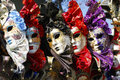 Exposition of masks of venice Royalty Free Stock Photo