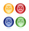 Expression icon Stock Images
